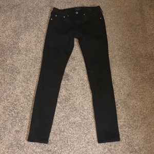 Pacsun black active stretch skinny jean 29x30